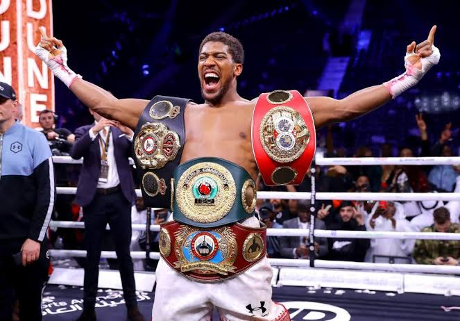 5 Reasons why Anthony Joshua Reclaimed his Belts.